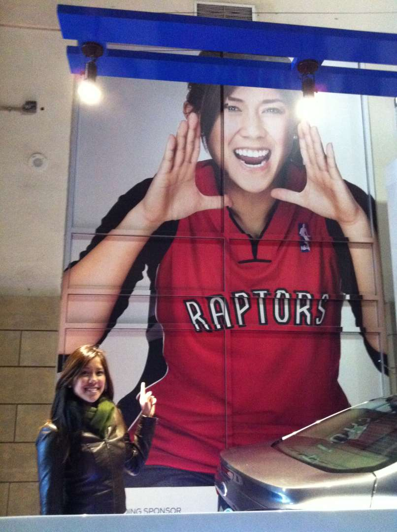 Ford Cars Campaign, Ford Focus, Toronto Raptors, Air Canada Center