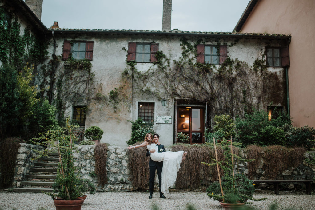 Borgo di Tragliata, Wedding Reception, Italian Countryside