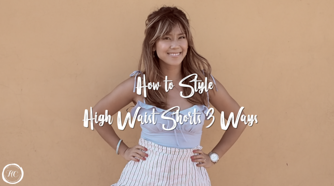How to Style High Waist Shorts