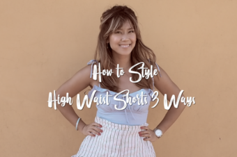 VIDEO: How to Style High Waisted Shorts