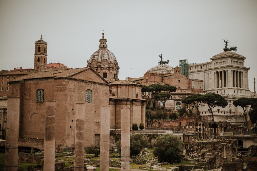 Fori Imperiali, Colosseum, Rome