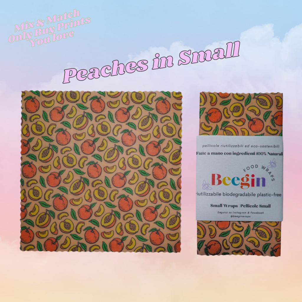 Peach Print Small
